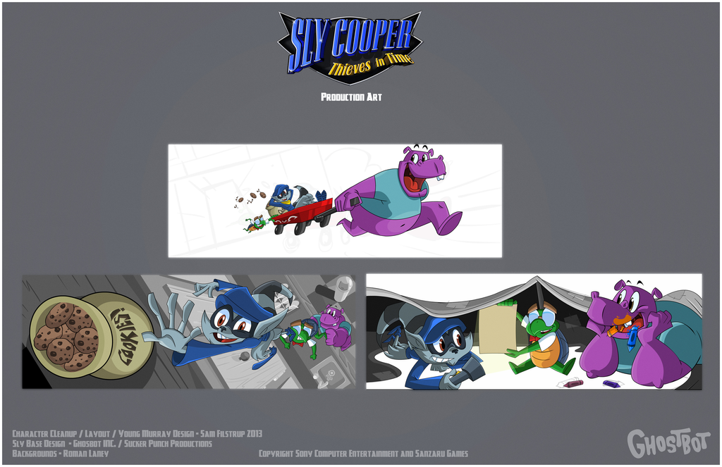 Image Sly 4 Sly Cooper Kids Scenes By Tigerhawk01