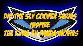 Did the Sly Cooper series inspire the Kung Fu Panda movies