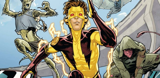 Image - New 52 Kid Flash by Jorge Jimenez.jpg | Smallville ...