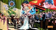 Superman's wedding