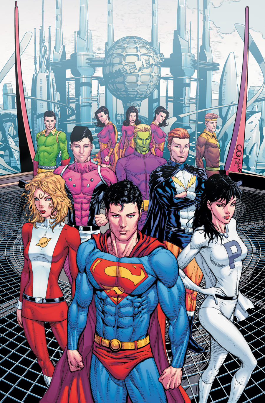 Legion of Superheroes Wiki Com The Legion of Superheroes as