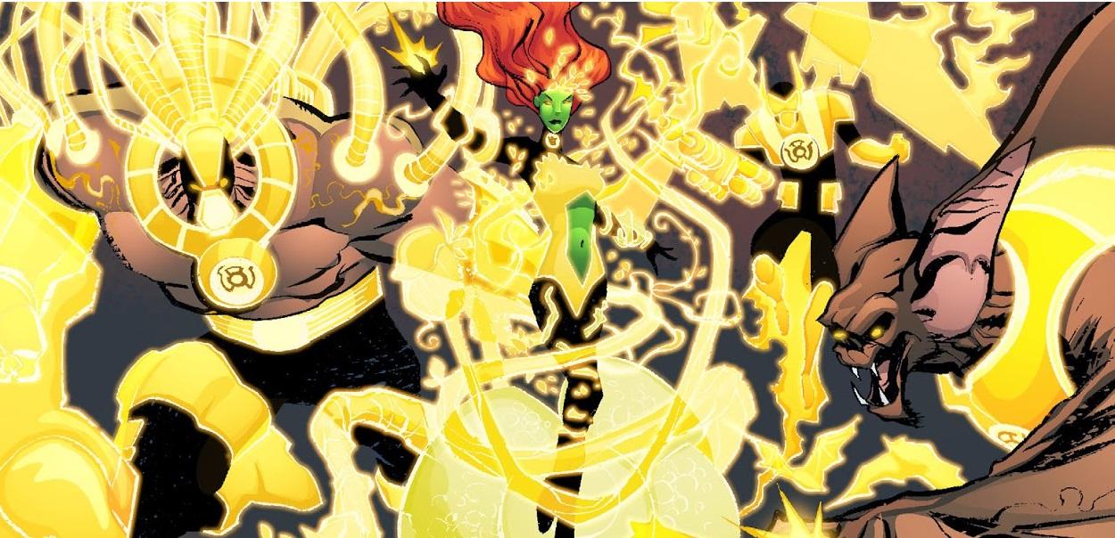 Yellow Lantern ...