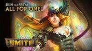 New Skin for Freya - All for One!