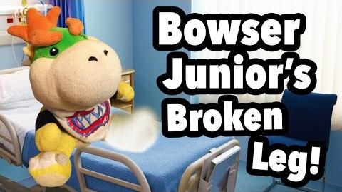 Bowser Junior S Broken Leg Supermariologan Wiki