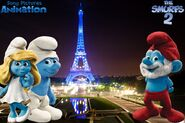 Let's Smurf Paris France!!!