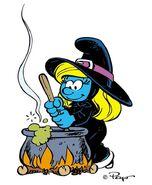 Smurfette Witch