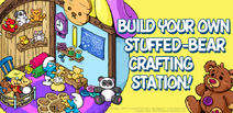 Build your own stuffed-bear crafting station!