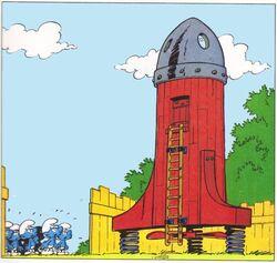 Astro Smurfs Spaceship
