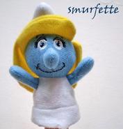 Smurfette Puppet