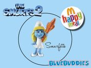 The Smurfs 2 happy meal smurfette