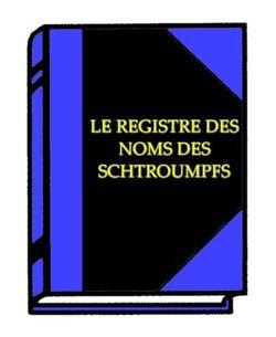 Smurf Register Of Names