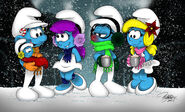 Holiday Smurfiness 2015