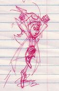 Ripple in Red Pen - Smurfs