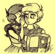 Falla & Josten's Secret Pen Sketch