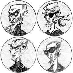 Olaf's various disguises