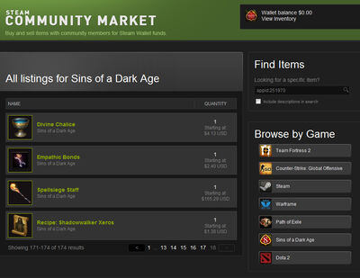 Steam-market