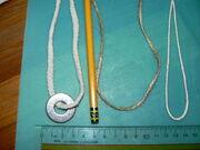 Jute twine and lehigh cord