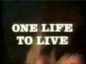 One Life to Live 1968 title card