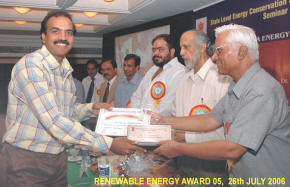 File:Ajay Chandak receives award.jpg