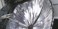 Aleiha's parabolic solar cooker
