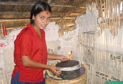 Vajra Foundation Nepal Haybox November 2006
