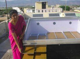 Mango fruit drying, India
