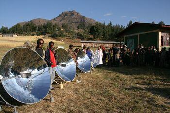 Solar Bereket - Parabolic cookers