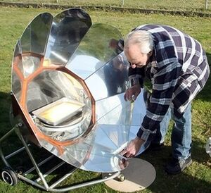 Solar Chef with Sam Erwin 2-7-12