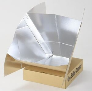 Eco Solar Cooker (assembled) 11-11