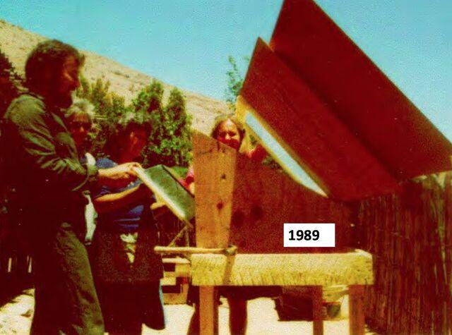 File:Early solar cooking in Chile, Pedro Serrano, 8-27-14.jpg