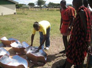 AfriAfya CooKits in Sekenani
