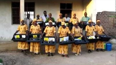 Solar Liberty Foundation Solar cookers in Kitenga, Tanzania
