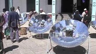 Solar cooking and handicraft 2002 Zanzibar