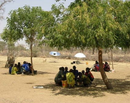 Sun and Ice school cookers in Mali, 1-19-15