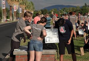 Arizona university students have solar oven throwdown, 10-15-15