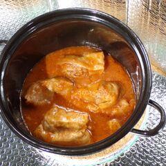 Fig. 21. Chou farci à la sauce tomate (0,5 kg)