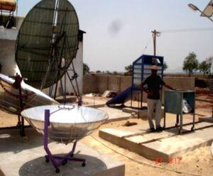 C.V. Ramen College of Engineering soalr relfector development, 9-9-14