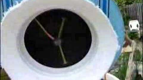 Clock based dripper tracker demo.