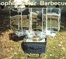 Grill solarny panelowy