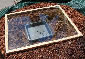 Solar Nest with glass top