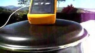 Horno Solar Ico-GE temperatura +200ºC