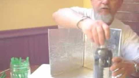 Soda bottle pasteurizer made from recyclables