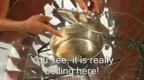 Making Solar Cookers and more in Vietnam (Danang) .wmv