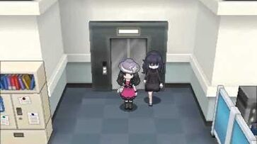 Pokémon X Ghost Girl in Lumiose City