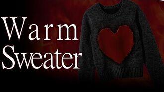 """Warm Sweater"" reading by Creeparoni"