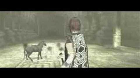 Shadow of the Colossus opening scene (NOT intro)