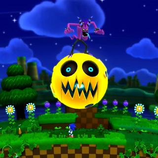 Zazz montando el Moon Mech en <a href=