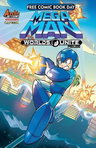 Mega Man Cover