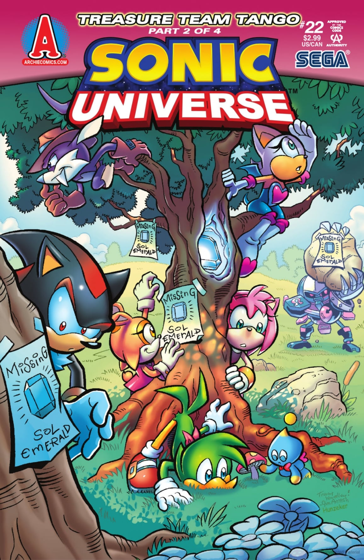 Archie Sonic Universe Issue 22 | Sonic News Network ...
