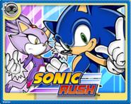 Sonic Rush Online Card
